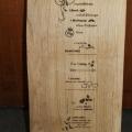 graveren op hout broodplank gedicht repko sneek laseren branden