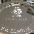 vv eemdijk repko sneek gravure verzilverd bord ø 35 cm aanbieding