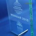award nederlands kampioenschap Zandsculptureren Sneek