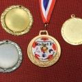 blanco medailles met eigen inleg doming
