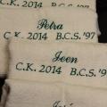 borduren handdoeken sportprijzen www.repko.nl